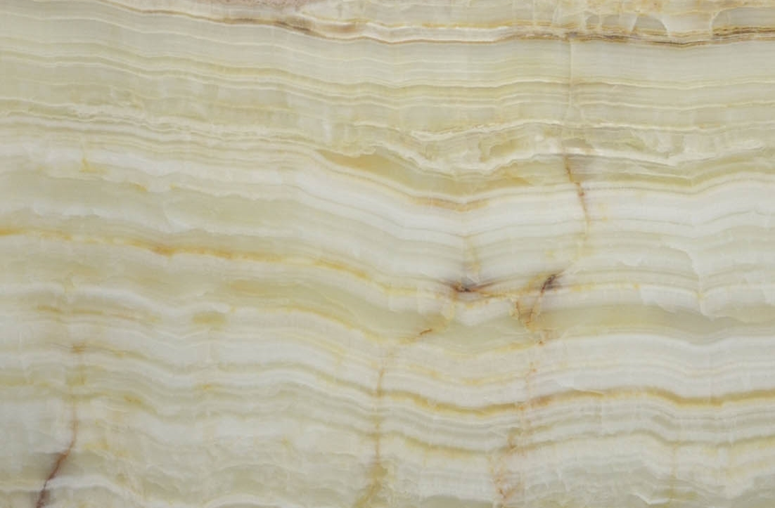 White Onyx Vein Cut