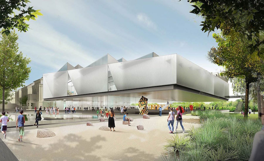 Diller Scofidio + Renfro and Woods Bagot Win International To Design Arts Facility in Adelaide
