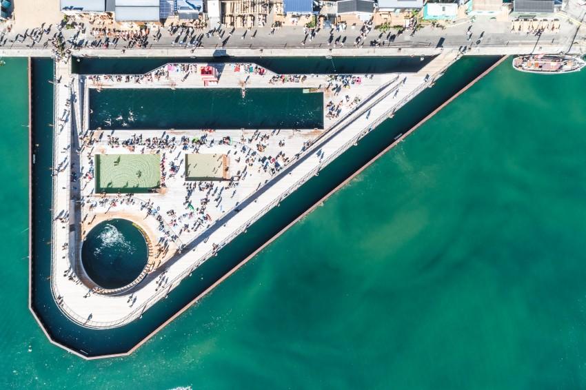 Bjarke Ingels Group's Aarhus Harbor Bath