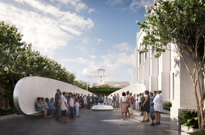 The Emanuel Nine Memorial by Handel Architects