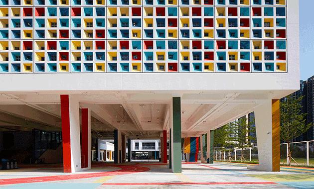 Henning Larsen's French International School, Hong Kong