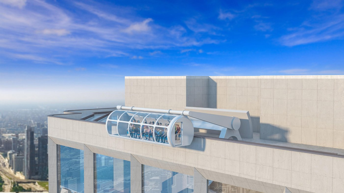 Solomon Cordwell Buenz' additions to the Aon Center in Chicago