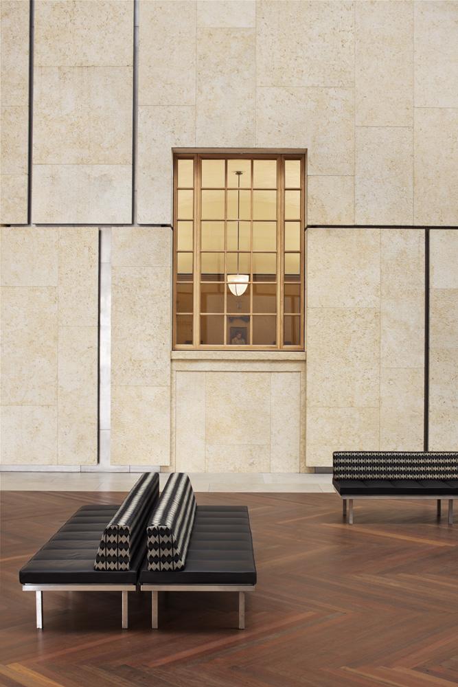 Ramon Grey Gold Mussamsam Finish | Barnes Foundation