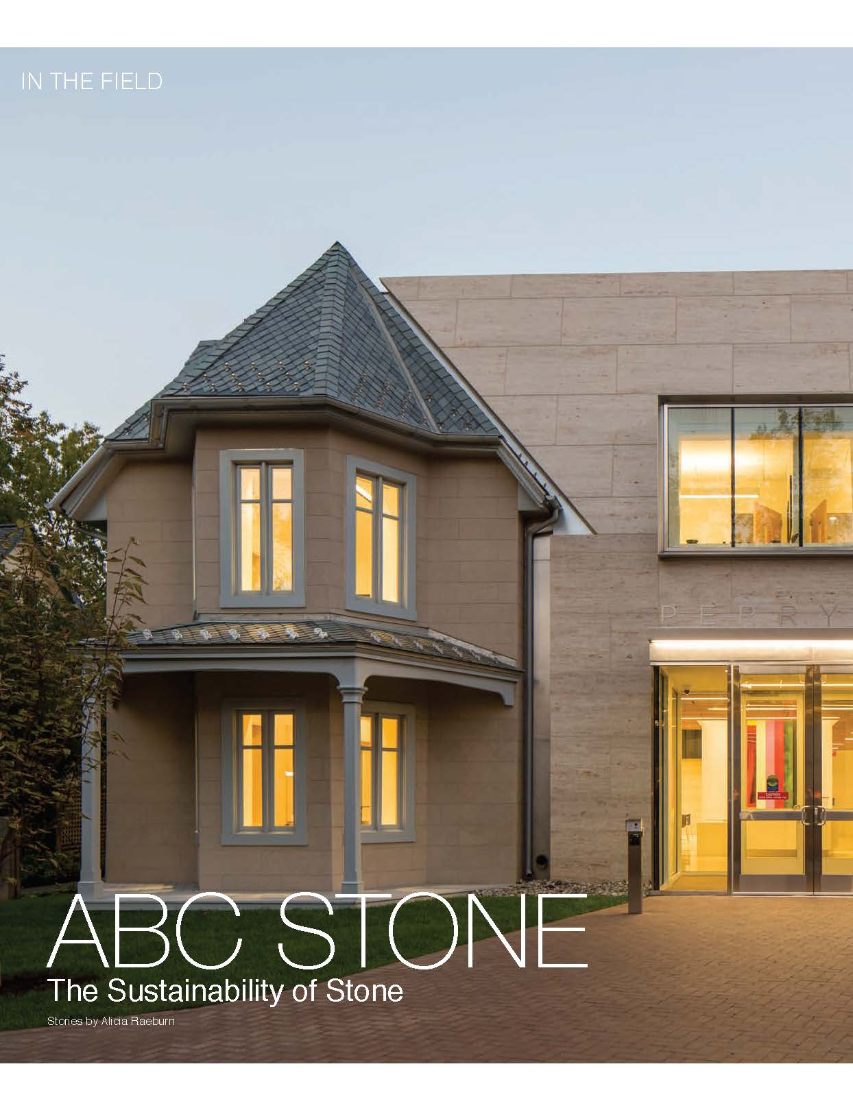 ABC Stone in Design + Decor Magazine | The Great Outdoors Issue