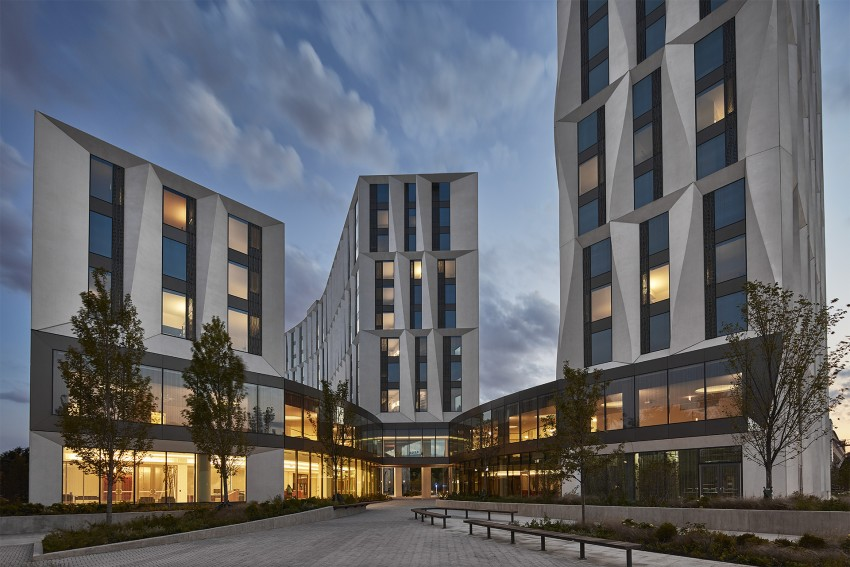 Studio Gang's Campus North Residential Commons at University of Chicago