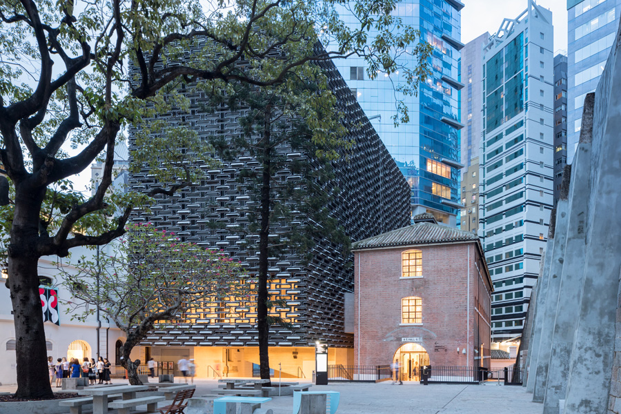 Historic Prison Compound in Hong Kong converted to Arts Center by Herzog & de Meuron