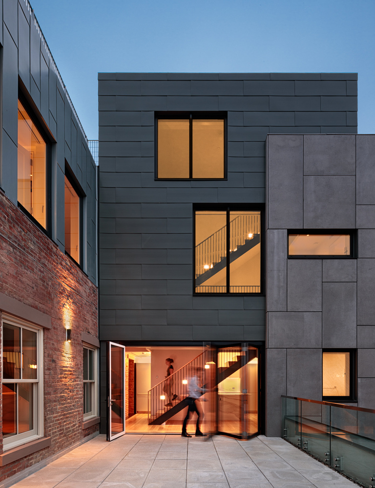 Marvel Architects convert parochial school into modern residential units