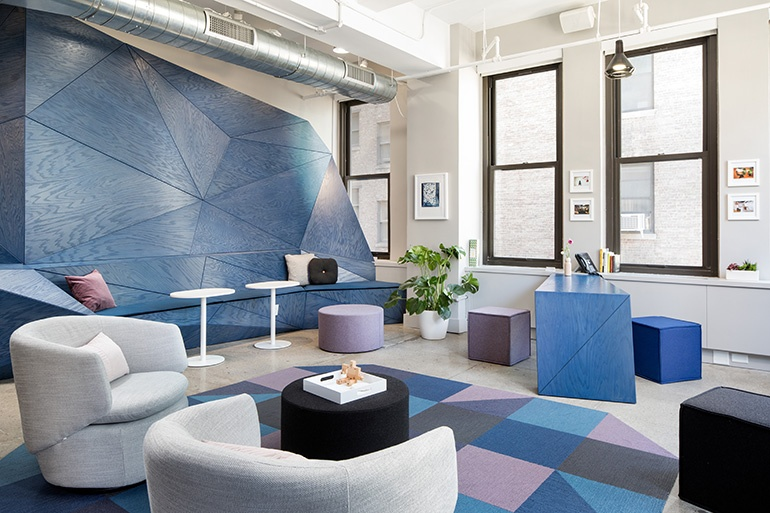 Manhattan Office of Sonic Union moved to Bryant Park with the help of Revamp Interior Design